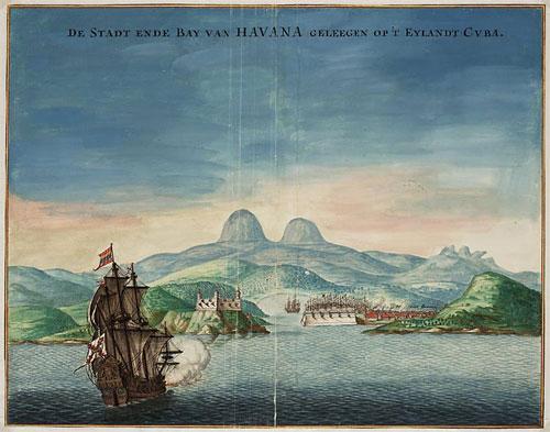 Aangezicht van Havanna