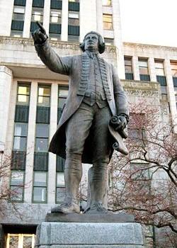 Standbeeldvan George Vancoucer
