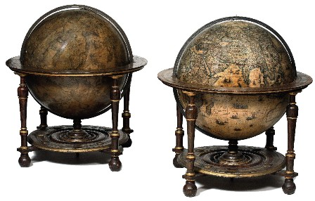 Globes van Blaeu