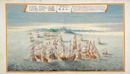Zeeslag bij Goa in 1638