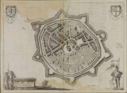 Kaart van Blaeu van Oldenzaal