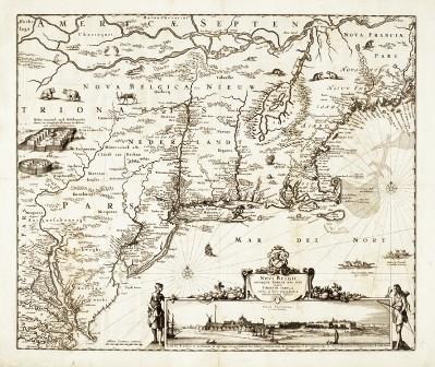 Kaart uit de atlas