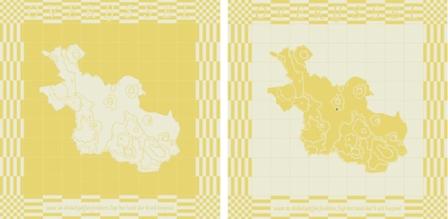 Lichtkaart van Overijssel