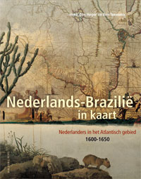 Het boek Nederland-Brazilië in kaart