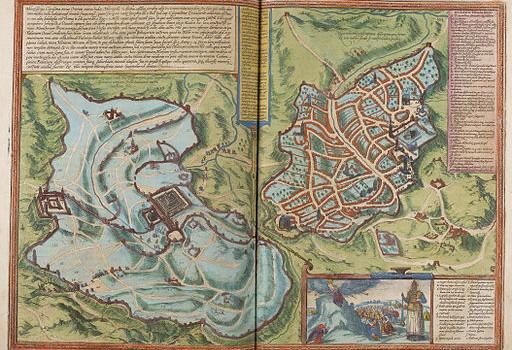 Jeruzalem, Braun & Hogenberg, 1572