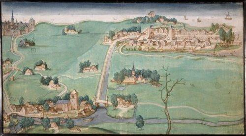Kaart van de drie Schieën, 1512