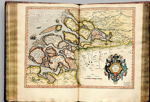 Zeeland, Mercator, 1596