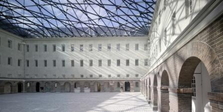 Binnenplaats van het museum
