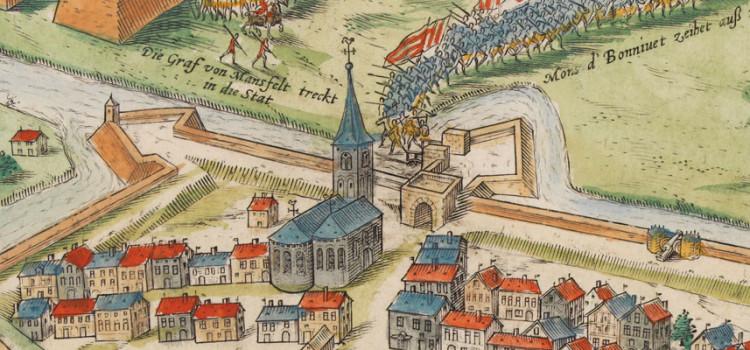 Beleg van Eindhoven van 1583, door Frans Hogenberg