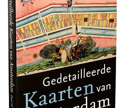 Boek gedetailleerde kaarten van Amsterdam