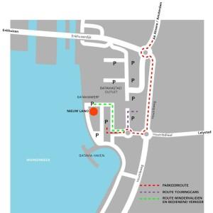 Locatie museum Nieuwland
