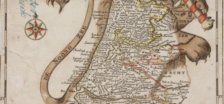 Holland afgebeeld als Nederlandse Leeuw, de Leo Hollandicus (1762)