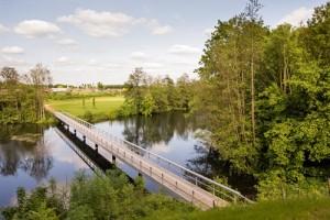 Afbeelding brug over de gracht