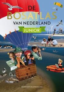 Omslag van de Bosatlas Nederland Junior