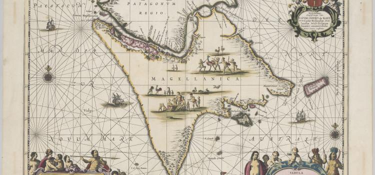 Tierra del Fuego uitgegeven door Pieter Schenk en Gerard Valk