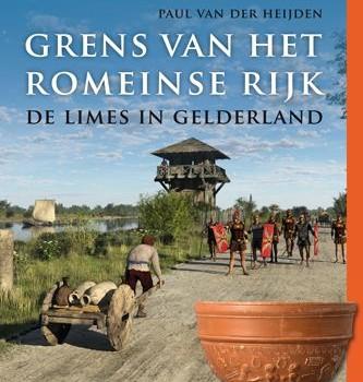 Boekomslag van Grens van het Romeinse rijk.