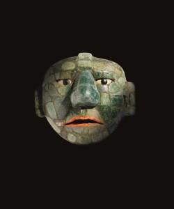 jade masker van 500-800 na Christus