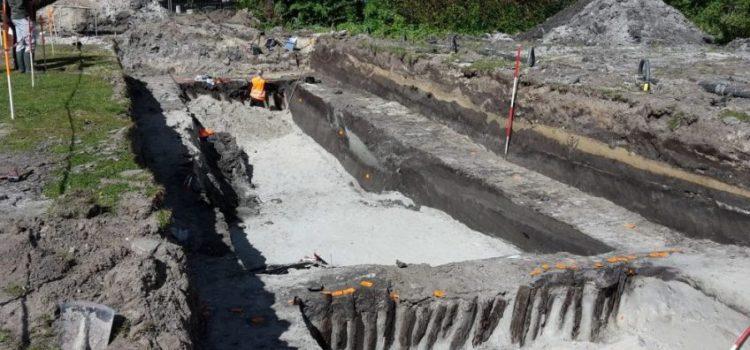 Romeins kanaal opgegraven in Leidschendam