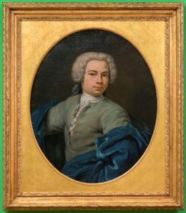 Jan Abel Wassenbergh (1689 – 1750) Portret van Theodorus Beckeringh (1712-1790) Olieverf op doek, 1735 Particulier bezit. Foto: Groninger Museum (John Stoel)