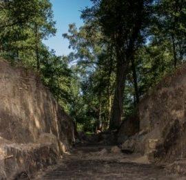 Hunenborg bij Volthe archeologisch onderzoek