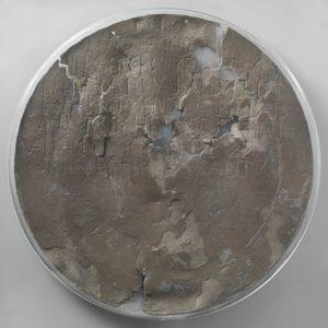 Dirck Hartogh-schotel anoniem, 1600-1616 tin, d. 36,5 cm (Collectie Rijksmuseum)