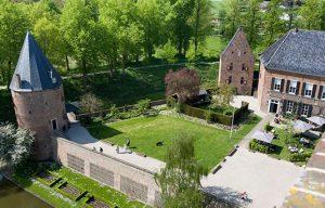 Gedeelte van de tuin van Huis Bergh