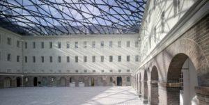 Binnenplaats Scheepvaartmuseum