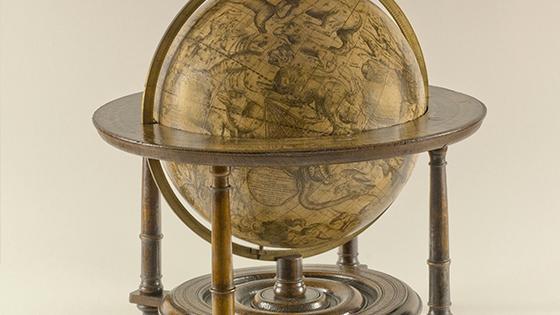 Scheepvaartmuseum pop-up tentoonstelling globes