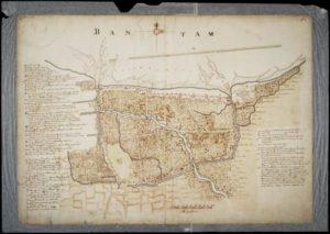 Kaart van Bantam Collectie Nationaal Archief