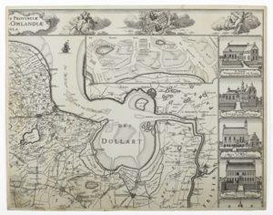 Detail van kaart van Theodorus Beckeringh