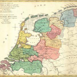 Cursus Historische Cartografie in Vogelvlucht bij Universiteit Amsterdam