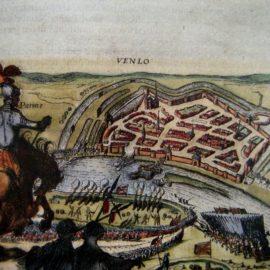 Stadsplattegronden en stedenatlassen uit de 16de tot 18de eeuw'. Lezing in Venlo