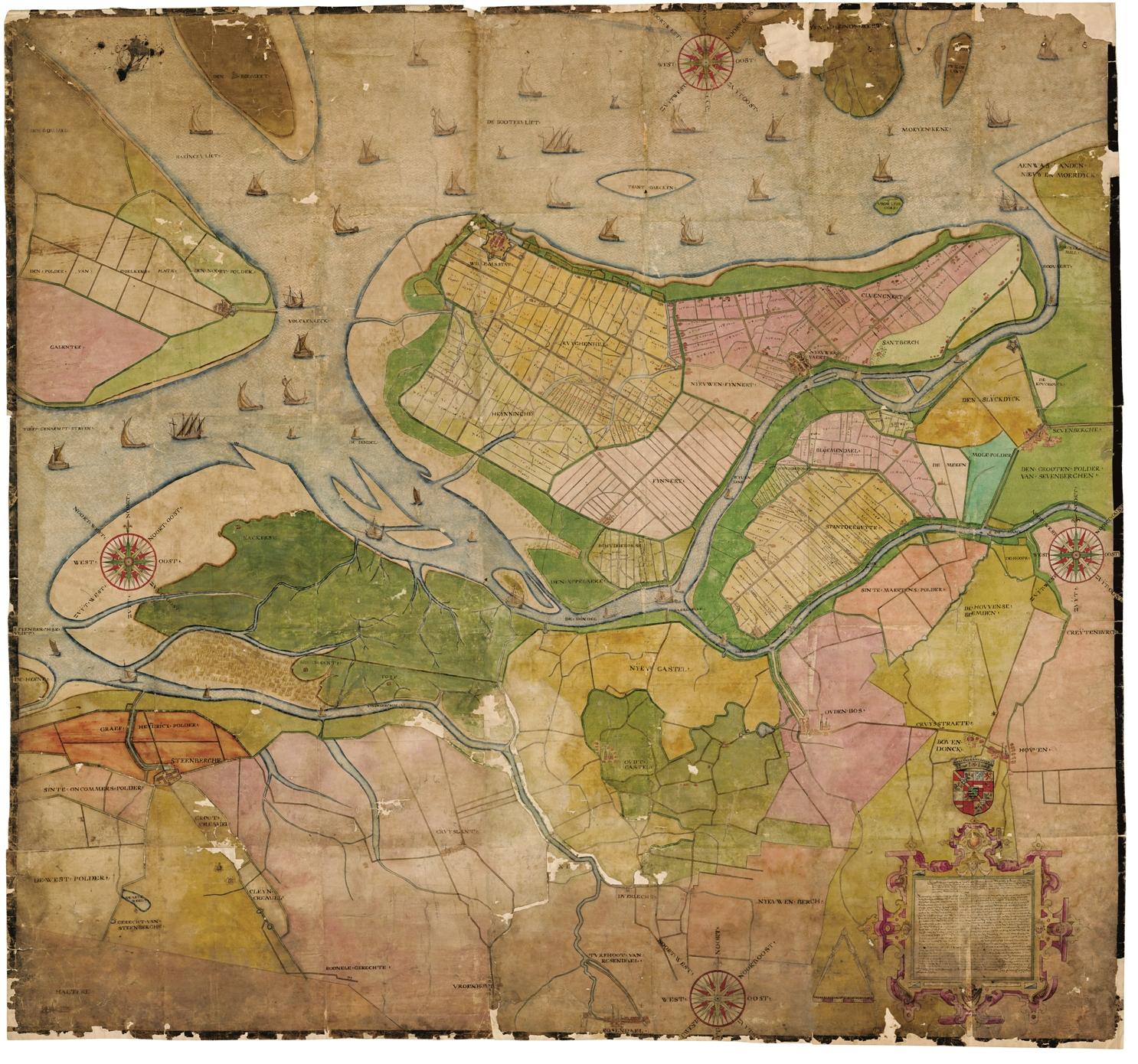 Mauritskaart uit 1590