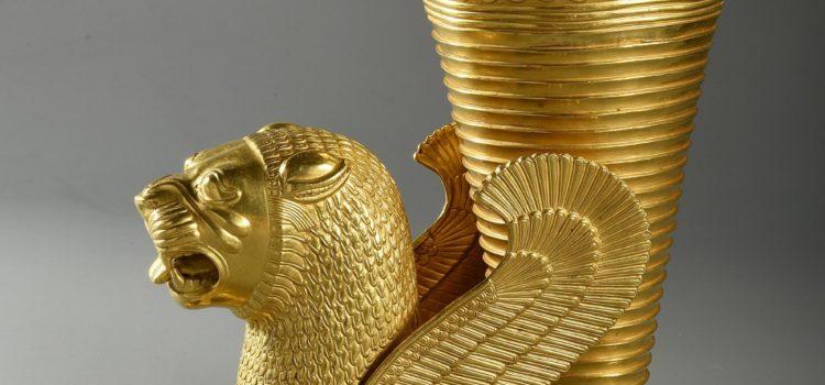 Gouden drinkbeker, 500 – 450 v.Chr., Hamedan
