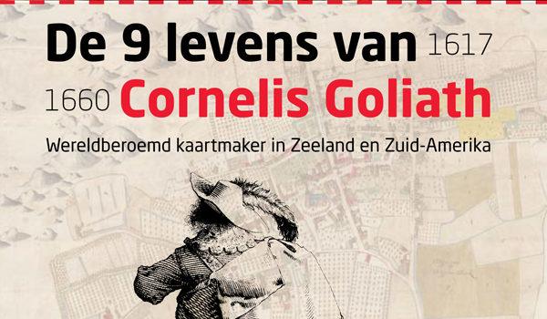 Poster van de expositie de 9 levens van Cornelis Golitah