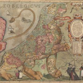 De geschiedenis van Nederland in oude kaarten