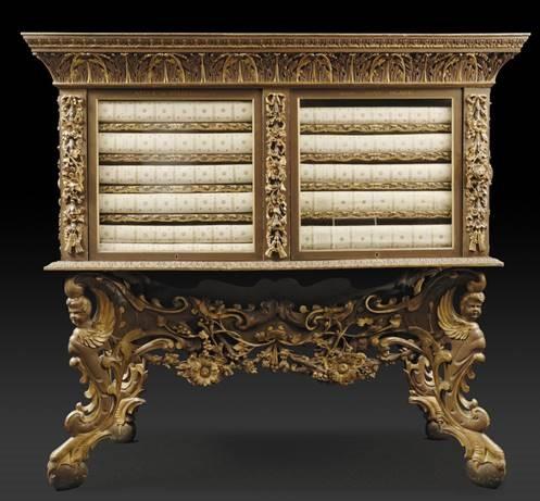 Het Blaeu kabinet uit 1664