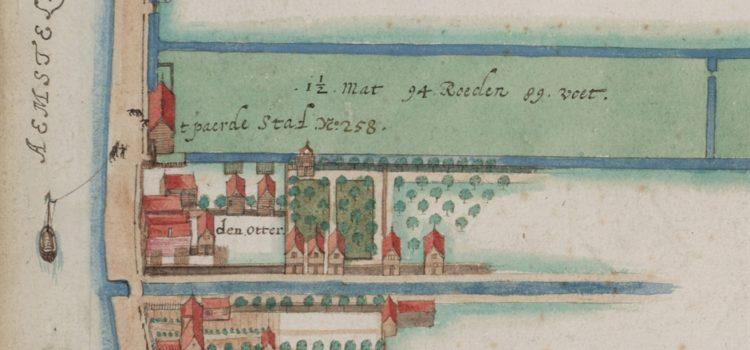 De Paardenstal en Herberg De Otter. Balthasar Florisz. van Berckenrode (1672-1628)