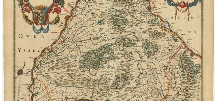 Een queeste naar de vroegst gedrukte kaart van de Veluwe uitgegeven door Henricus Hondius
