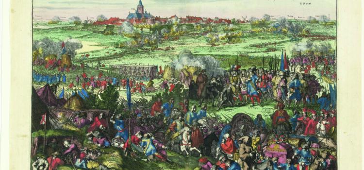Afbeelding van de Hollandse waterlinie pag. 186