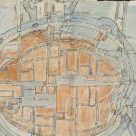 Unieke kaart van binnenstad Groningen duikt op in Duits archief