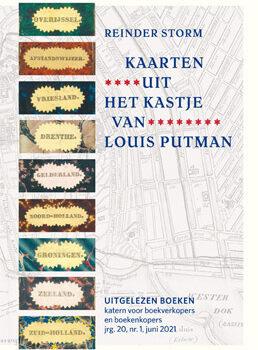 Omslag tijdschrift Kaarten uit het kastje van Louis Putman