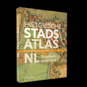Omslag van de Historische Stadsatlas-NL